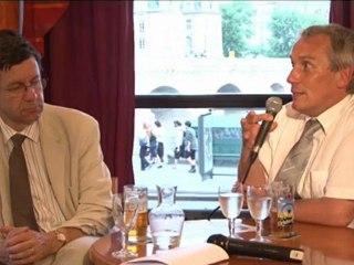 Etienne Augé, Philippe Chomaz (en anglais), Bar des sciences de Paris / I2EN, juin-2012