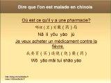 Cours de chinois -  Comment dire qu'on est malade en chinois