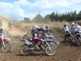 Motocross à Fontaine-au-Pire