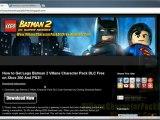 Lego Batman 2 Villans Character Pack DLC Leaked