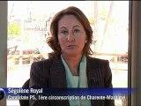 Ségolène Royal affirme avoir le soutien de François Hollande