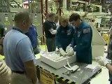 [STS-135] Crew Equipment Interface Test of Shuttle Atlantis