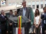 Inauguration de la ligne B du tramway de l'agglomération orléanaise - Discours du Président de l'AgglO