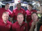 [STS-133] Crew Tribute to Space Shuttle Discovery