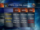 [STS-134] Countdown Status Briefing (13/05/11)