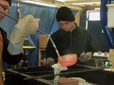 Le stage bronze. Atelier de sculpture, modelage, modelage, raku