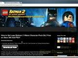 How to Get Lego Batman 2 Villans Character Pack DLC