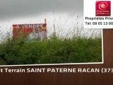Vente - terrain - SAINT PATERNE RACAN (37370)