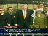 Vinculan muerte de Yaser Arafat con envenenamiento