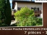 A vendre - maison - Proche CRUSEILLES (74350) - 7 pièces -