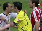 Etxebe, Armando, Muñoz. Tarde de despedidas en San Mames. Athletic club Bilbao