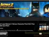 Lego Batman 2 Heroes Character Pack DLC Leaked - Tutorial