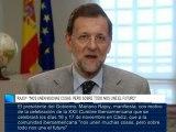 """Rajoy: """"Nos unen muchas cosas, pero sobre todo nos une el futuro"""""""