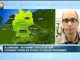 Un homme armé prend plusieurs personnes en otages en Allemagne