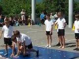 Garçons Gymnastes (fête des écoles 23 juin 2012)