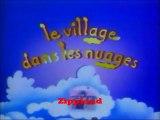 Le village dans les nuages .générique .