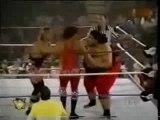 Owen Hart and Yokozuna vs Bob Holly and 123 Kid part 2