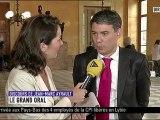 03/07/12 : Olivier Faure interrogé par iTélé avant le discours de politique générale du Premier ministre