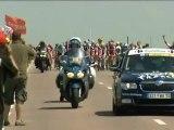 Sur les traces du Tour de France, un collectionneur fan