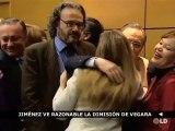 """Jiménez ve """"razonable"""" que David Vegara abandone el Ministerio de Economía"""