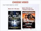 Fukuda vs Philippou fight video