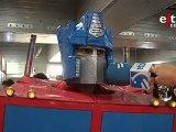 Increíble transformación de Optimus Prime en la Euskal Encounter 2010