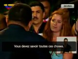 """Hugo Chavez :""""Ce monde est à l'envers, ton monde, celui auquel tu appartiens""""."""