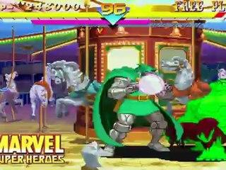 First Trailer de Marvel VS. Capcom Origins