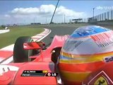 F1 2010 Suzuka Circuit Onboard Alonso Q3 Qualifying Lap [HD] Engine Sounds