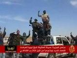مناطق السيطرة والمعارك بين الثوار وكتائب القذافي