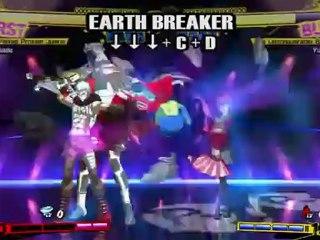 Gameplay Akihiko de Persona 4 Arena