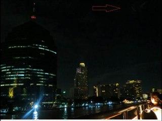 UFO Filmado acidentalmente em Bangkok