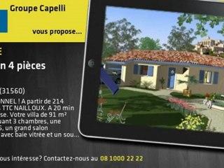 Vente - Maison 214 900€ -  Nailloux (31560)