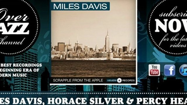 Miles Davis, Horace Silver & Percy Heath - I'll Remember April (1954)