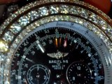 custom Hand Set 17carts lab diamond Breitling Bentley g.t.All Models. All Color Diamonds! by BLUE FLAME DIAMONDS