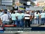 Panamá: Trabajadores de agua potable se declaran en huelga