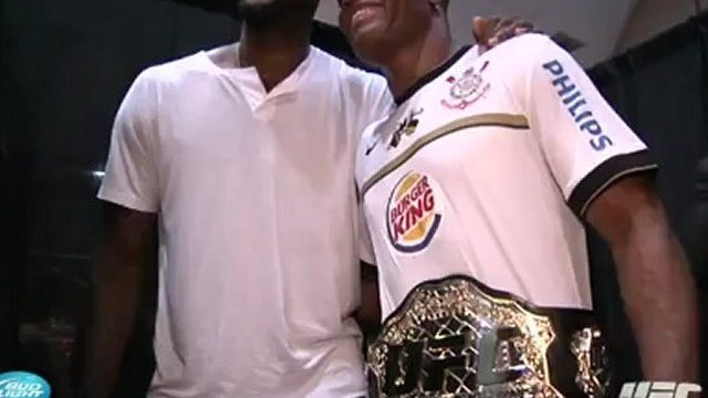 UFC 148: Anderson Silva Post-fight Interview