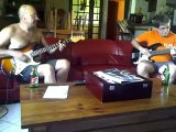 Guitare&Basse - Impro Mary had a little lamb Stevie Ray Vaughan