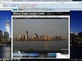 Webcams registram ao vivo UFO sobre obras de reconstrução do WTC em NYC.