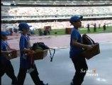Les bénévoles dionysiens au meeting d'athlétisme Areva de Saint-Denis au Stade de France