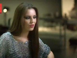 Cheryl Cole - Photo Shoot - Q Magazine - Behind The Scenes