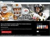 Unlock NCAA Football 13 Nike Pro Combat Premium Uniforms DLC - Xbox 360 And PS3