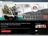 How to Download NCAA Football 13 Heisman Challenge 3 Player Pack DLC Free