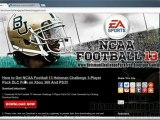 How to Get NCAA Football 13 Heisman Challenge 3 Player Pack DLC Free!!