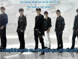 EXO-M - Machine [Sub Español + Romantización] Lyrics Color Code.