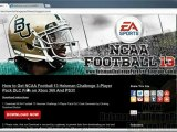 How To Download NCAA Football 13 Heisman Challenge 3 Player Pack DLC