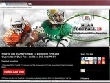 NCAA Football 13 Exclusive Five Star Quarterback DLC Codes - Free!!