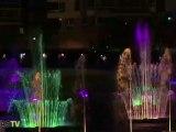 Jeux d'eau et de lumière à Strasbourg