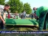 17 years on, Srebrenica to bury victims of genocide