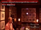 Ref: PBEH92 PIANO BAR ENTERTAINER showtimeargentina@hotmail.com---ROCK POP JAZZ LATIN DISCO COUNTRY TOP 40s